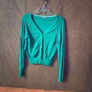 Primark green cardigan